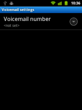 Android: Voicemail number not set